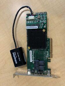 Adaptec ASR-7805 1G 6Gb/s RAID Controller & Battery