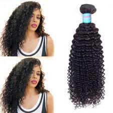 Brazilian Curly Virgin Hair Weaves 1/3 Bundles Jerry Curly Human Hair Extensions