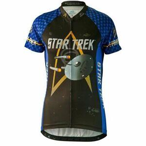 """Brainstorm Gear Women's Star Trek """"Science"""" - Blue - Cycling Jersey"""