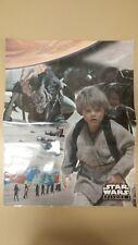 Vintage Anakin Skywalker Episode 1 Poster! The Phantom Menace! NICE OLD ITEM!