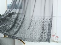 """24/"""" Drop Voile  Fruit Cafe Net Curtain Panel ~ D2 GOLDEN APPLES ~ 12/"""" /& 18/"""""""