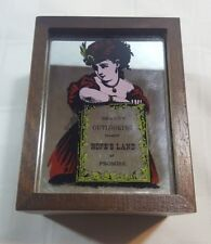 Vintage Beauty Outlooking Toward Hope's Land of Promise Wood Music Box