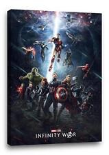 AVENGERS INFINITY WARS CANVAS Marvel Comic Poster Photo Print Art 30x20 CANVAS
