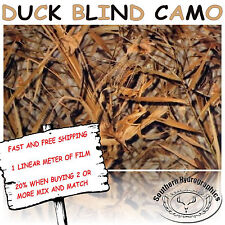 HYDROGRAPHIC WATER TRANSFER HYDRODIPPING FILM HYDRO DIP DUCK BLIND CAMO  1M