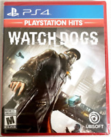 Watch Dogs (Playstation Hits) PS4 (Sony PlayStation 4, 2013) Brand New