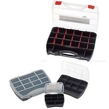 Draper 4pc Storage Tool Box Oragniser 8-25 Compartments for Sparky Electrician