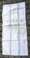 Antiker Leinen Sack Mehlsack Bauernleinen Getreidesack 1919 - antique linen sack