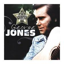 GEORGE JONES - HALL OF FAME OF COUNTRY MUSIC: GEORGE JONES NEW CD