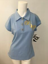 Baby Phat Three Buttons Powder Blue Polo Shirt / Top NWT (Size Medium)