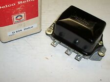 New Delco Voltage Regulator - 1958 thru 62 Buick, Cadillac w/A.C - Replaces D624