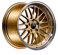 18X8 5X110 JNC 005 GOLD MACHINE made for PONTIAC DODGE SATURN SAAB
