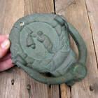 Old Dutch Brass Bell Ringer Door Knocker