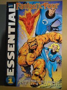 ESSENTIAL FANTASTIC FOUR Vol. 1 Marvel Comics 2001 tp tpb gn