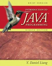 Introduction to Java Programming, Brief (8th Edition) by Liang, Y. Daniel