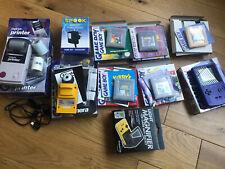 Nintendo Game Boy Color Bundle (GBC+camera+printer+link cable+case)
