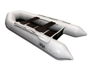 FISH 360 Luxus Schlauchboot mit Luftkiel Spitzenqualität 100% gebaut in Europa