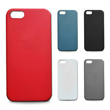 FUNDA MATE TEXTURIZADA ANTIDESLIZANTE compatible IPHONE 5 VARIOS COLORES