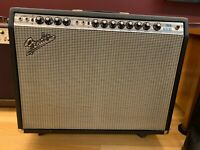 1972 Fender Twin Reverb Silver Face