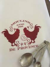 Flour sack cotton dishtowel farmhouse country funny Kitchen chickens roosters