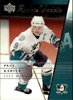 2002-03 Upper Deck Rookie Update Hockey Cards Pick From List