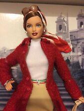 Gold label, Ferrari barbie doll