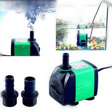 Pompe à eau 420-1800l/h Submersible 5types pour Aquarium Bassin Poisson 220-240V