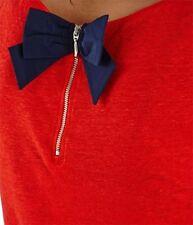 Kurzarm Damen-T-Shirts mit Rundhals-Ausschnitt aus Leinen