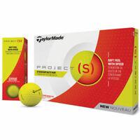 TAYLORMADE 2018 PROJECT (s) YELLOW MATTE GOLF BALLS MULTI BUY OPTIONS