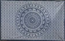 Blue Indian Mandala Wall Hanging Tapestry Bedding Decor Double Table Cloth UK