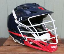 Cascade Type R Custom Lacrosse Helmet Blue White Red One Size
