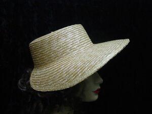 Sun Bonnet Straw Women's Regency Jane Austen Vintage Antique style one size