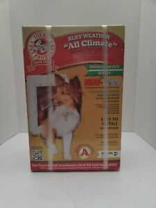 Ruff Weather All Climate Small Pet Door NEW