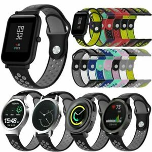 18/20mm Silicone Watch wristband Strap Bracelet For Nokia Withings Steel HR 40mm