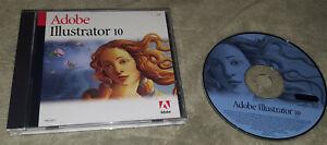 Adobe Illustrator 10 Upgrade MAC/Apple OS Computer/Software Key Code Macintosh