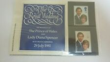 ROYAL WEDDING STAMP SET PACK 1981