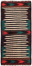4173 # Vintage Handmade Turkish Design Sufra Kilim Short Runner 143 x 69 cm