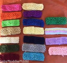12 x  Baby Toddler Girls Crochet Headband any colour $3 for 12