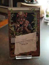 Vintage 1880s Trade Card - Black Americana Atlantic & Pacific A&P tea Company