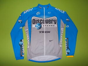 Shirt team DISCOVERY CHANNEL 2006 (XL) NIKE PERFECT !!! CYCLING Long Sleeves