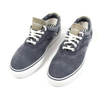 Authentic Sperry Top-Sider Striper Navy Shoes Ultimate Wet or Dry Traction