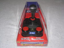 Commodore 64 Plug and Play 30 Games in One Joystick Mammoth Toys 2004 Brand New