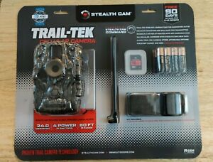 Trail-Tek Cellular Camera AT&T 24 MP Stealth Cam STC-FATWC V2 - Free Shipping!