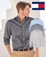 Tommy Hilfiger - Capote End-on-End Chambray Dress Casual Shirt - 13H1861