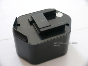 NEW 2.4AH Battery for Porter Cable 12v 12 volt 8623, 869, 9866/F 2 YEAR WARRANTY