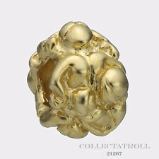 Authentic Trollbead 18kt Gold Transition Woman Bead *RETIRED*