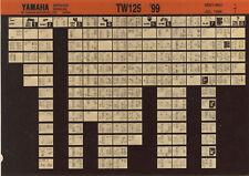 YAMAHA TW 125 _ Service Manual _ Microfich _ microfilm _ Fich