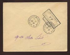 ST PIERRE MIQUELON 1926 OFFICIAL FRANKED COVER