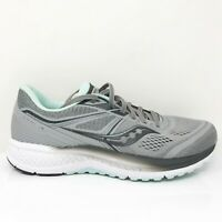 Saucony Womens Omni 19 S10570-30 Gray Running Shoes Lace Up Low Top Size 10