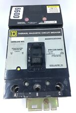 Square D Q232200H 200 Amp 240 Volt 3 Pole Thermal Magnetic Circuit Breaker, B99