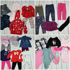 Toddler Girls 18M 31-Piece Clothing Lot [Carters Old Navy Garanimals Outfits]